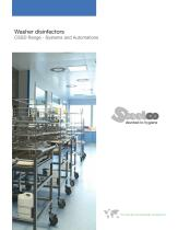 Washer disinfectors CSSD Range - Systems and Automations