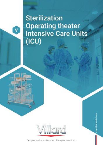 Cat. Sterilization - Operating theater - Intensive Care Units (ICU)