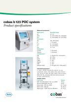cobas b 123 POC system - 9