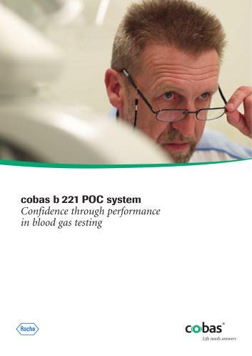 cobas b 221 POC system