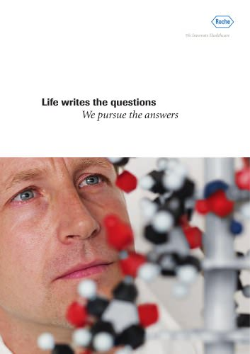 Life writes the questions We pursue the answers