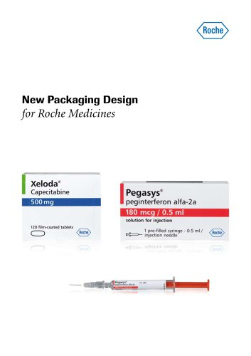 New Packaging Design for Roche Medicines