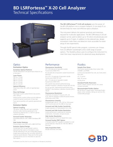 BD LSRFortessa™ X-20 Cell Analyzer