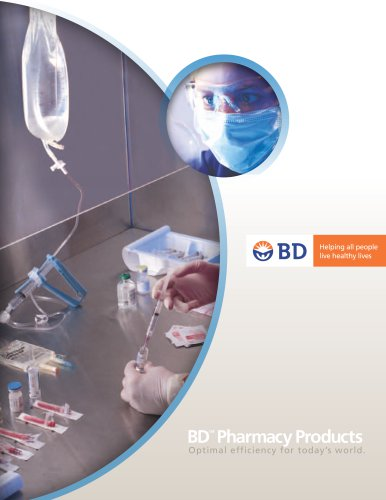 BD Pharmacy Products Catalog