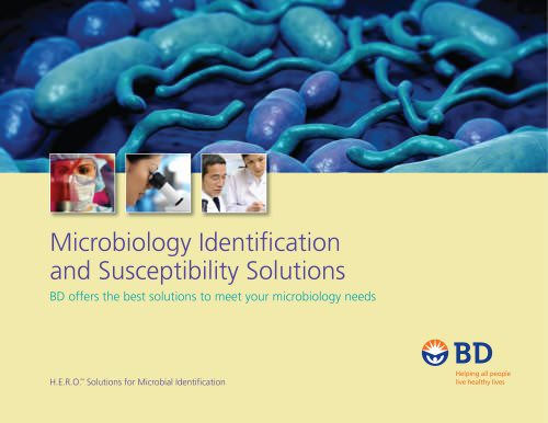 Microbiology Identifi cation and Susceptibility Solutions
