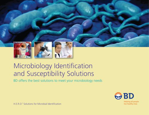 Microbiology Identification and Susceptibility Solutions