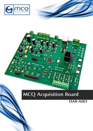 Data acquisition board