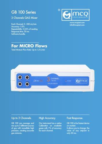 Gas Blender 100 Series - Micro Flows