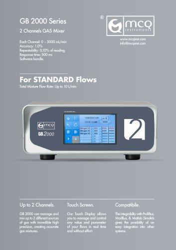 Gas Blender 2000 - Standard Flow - 2 Channels