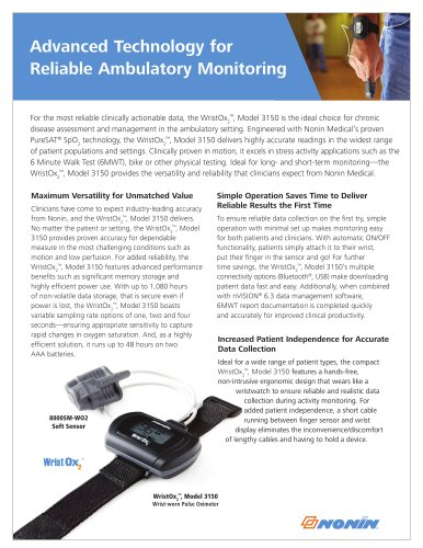 3150 Ambulatory Flyer