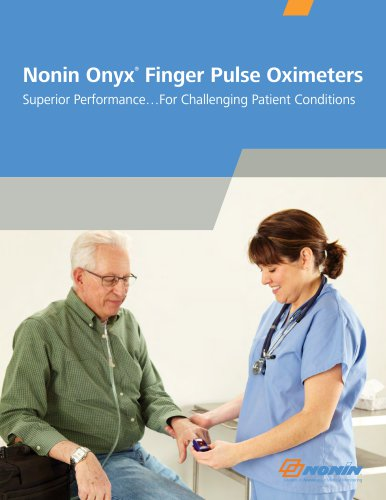 Nonin Onyx Finger Puise Oximeters
