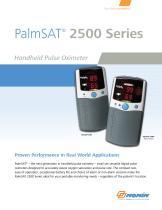 PalmSAT 2500 Brochure