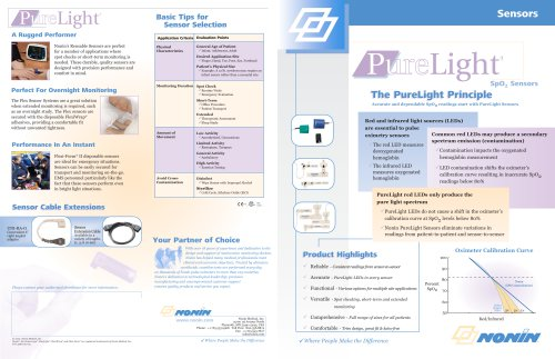 PureLight Sensors Brochure