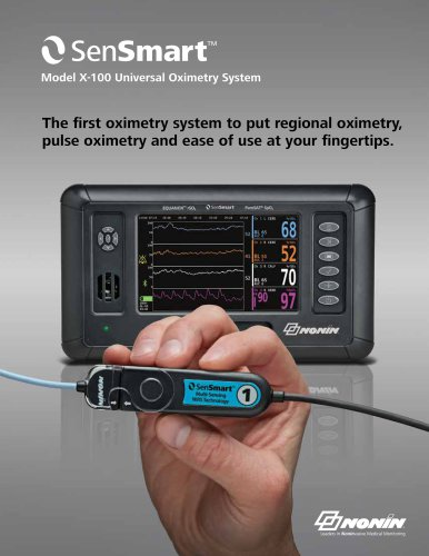 SenSmart Universal Oximetry System Adult