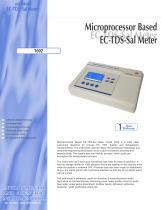 Microprocessor Based EC-TDS-Sal Meter