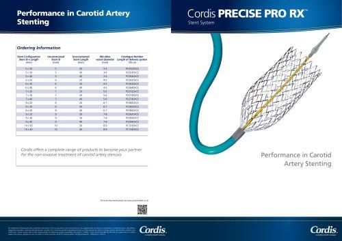 Cordis PRECISEPRO RX