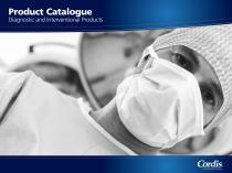 Product Catalogue Diagnostic and Interventional Products