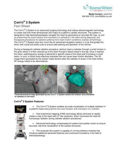 C ARTO ® 3 System