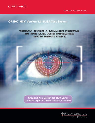 ORTHO® HCV Version 3.0 ELISA Test System