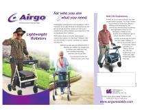 Airgo Rollator Brochure