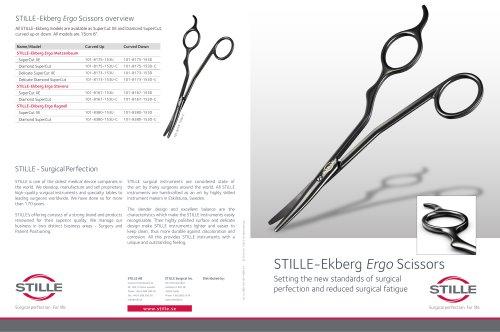 STILLE-Ekberg Ergo Scissors overview