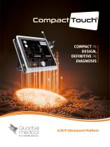 Compact Touch, Compact in design, definitive in diagnosis