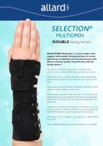 SELECTION® MULTIOPEN DOUBLE locking function