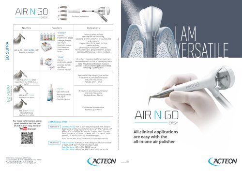 Air N Go easy airpolisher