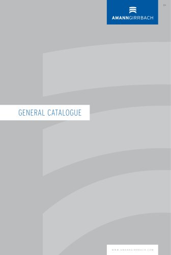 AG General Catalogue