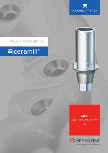 Medentika Implant Prosthetics Catalogue