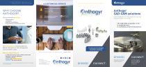 Anthogyr CAD-CAM solutions
