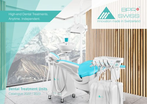 Catalogue Dental Units 2020 BPR Swiss