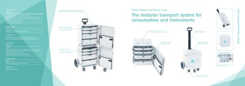 Denta-Trolley and Denta-Case