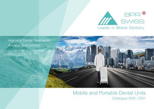 Mobile and Portable Dental UnitsCatalogue 2020 / 2021