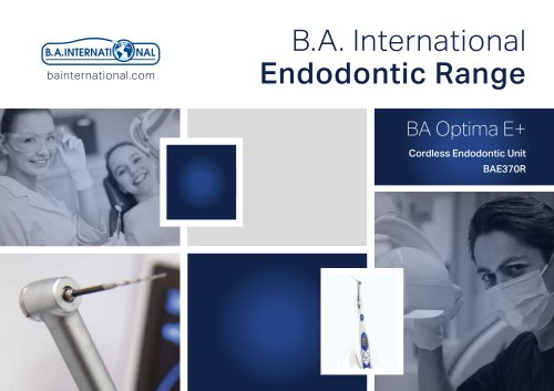 BAE370R Specification brochure
