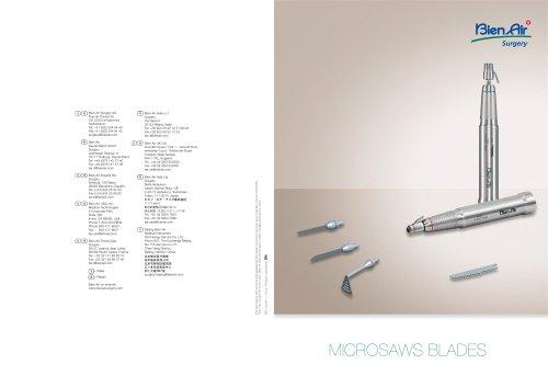 MICROSAWS BLADES