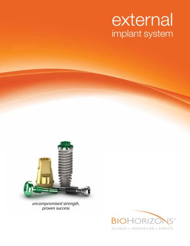 External Dental Implant Catalog