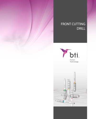 FRONT CUTTING DRILL