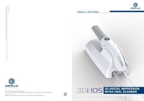 3D DIGITAL IMPRESSION INTRA ORAL SCANNER
