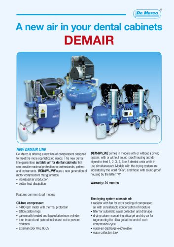 A new air in your dental cabinets DEMAIR