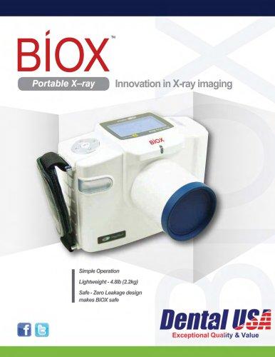 Bio-X Portable X-Ray Brochure