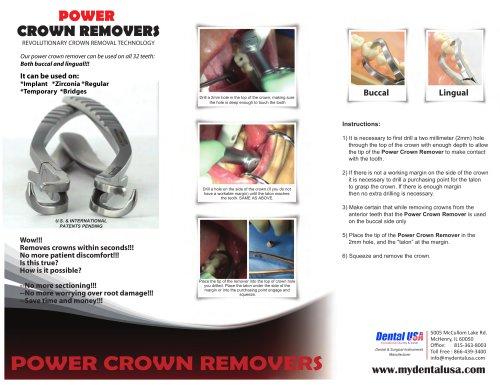 Power Twist Periotomes Brochure