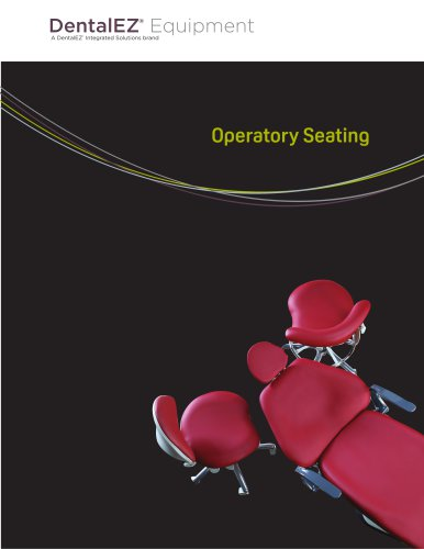 DentalEZ Operatory Seating