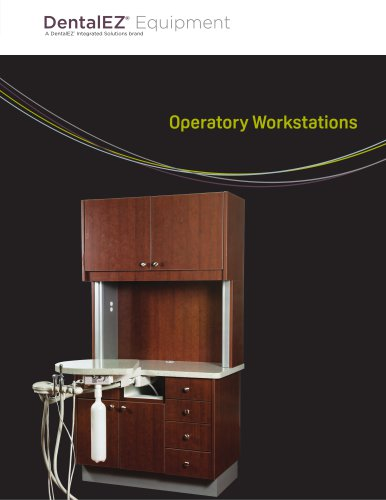 DentalEZ Operatory Workstation
