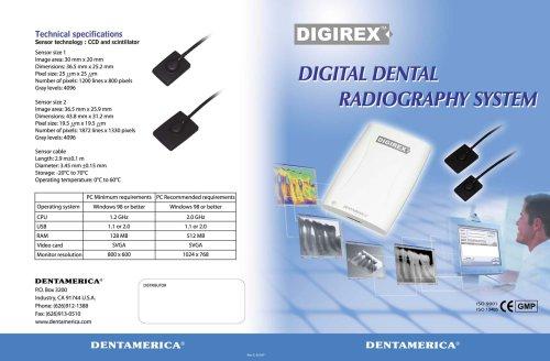 DIGIREX Digital Dental Radiography System