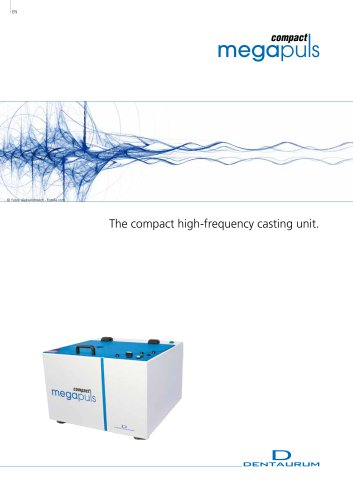 The compact high-frequency casting unit