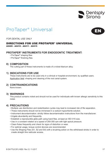 ProTaper® Universal