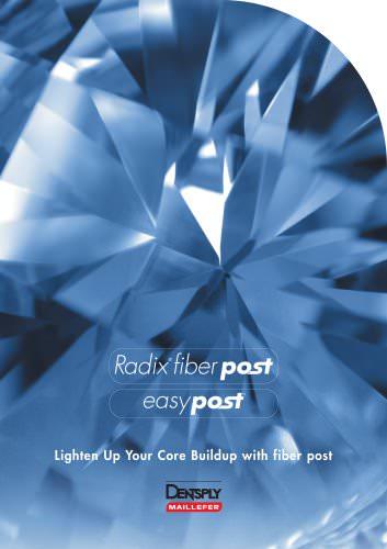 Radix fiber post