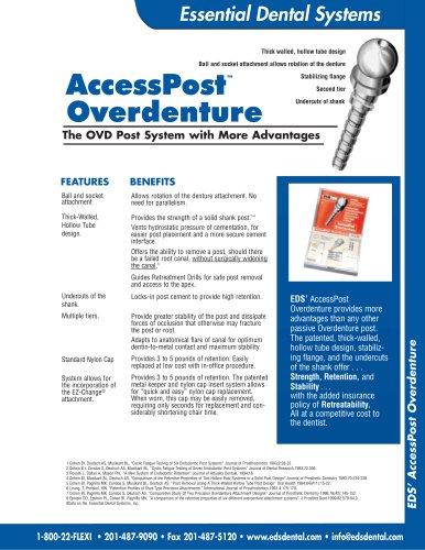 AccessPost Overdenture