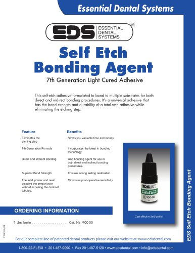 Self Etch Bonding Agent